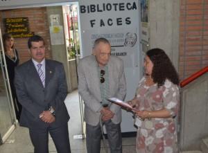 El prof. Hočevar durante su homenaje